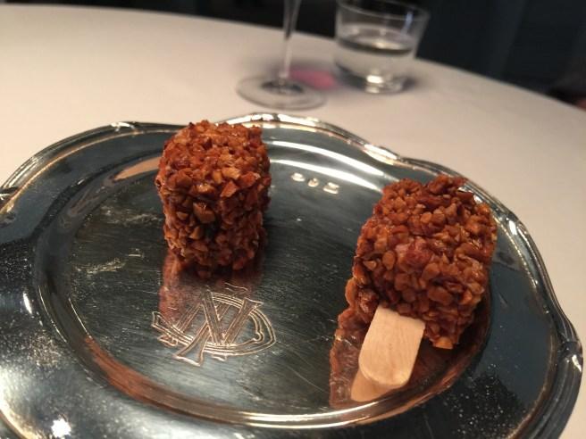 Croccantino of foie gras