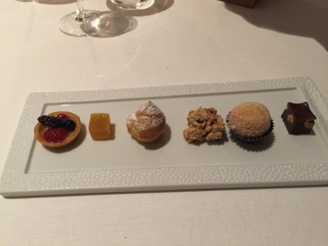 Samll assorted pastries
