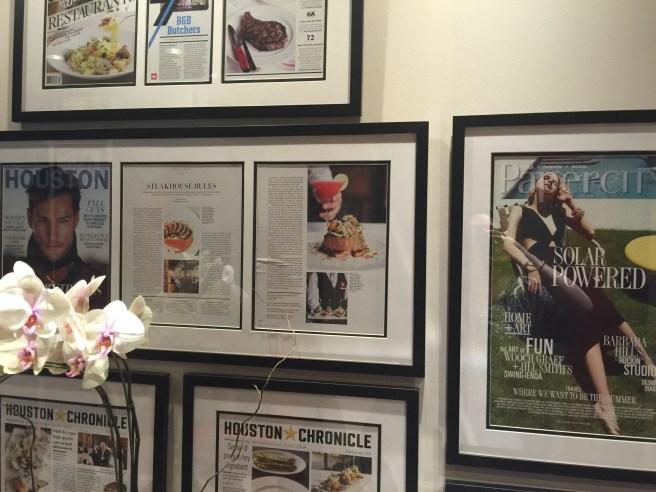 a wall of press