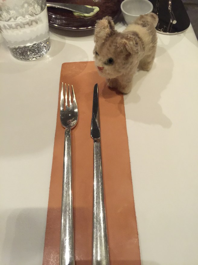Frankie thought they had different flatware