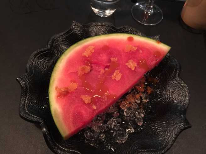 Infused watermelon
