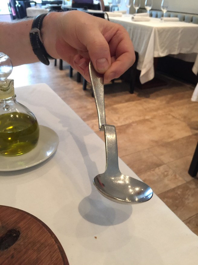 interesting serving spoon