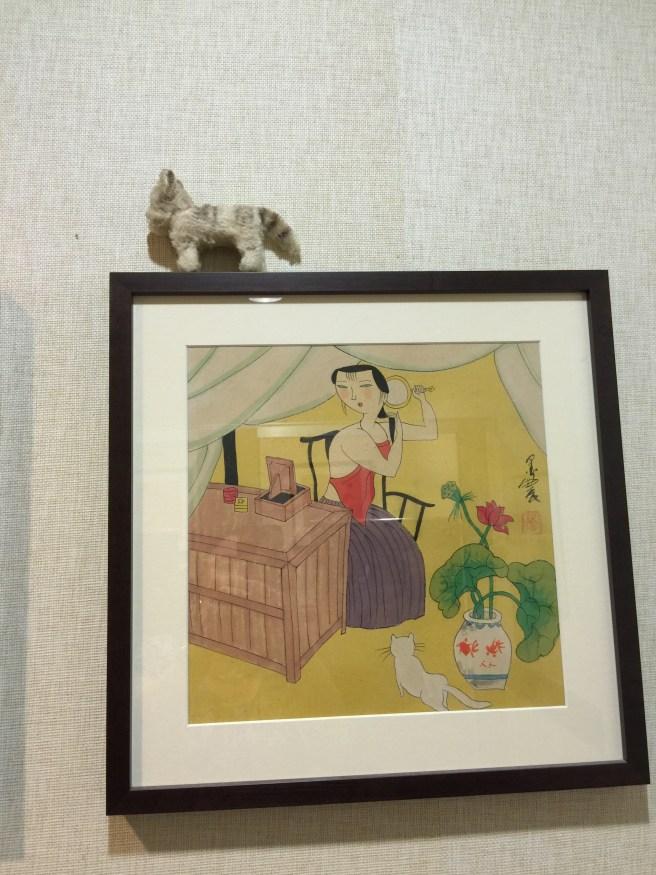 Frankie liked the art