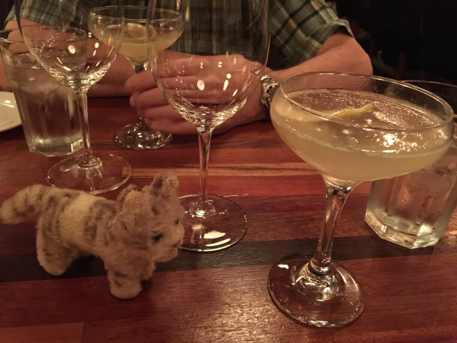 Frankie offered to help down the French 75