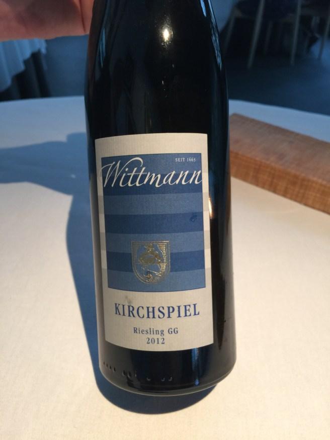 white wine front