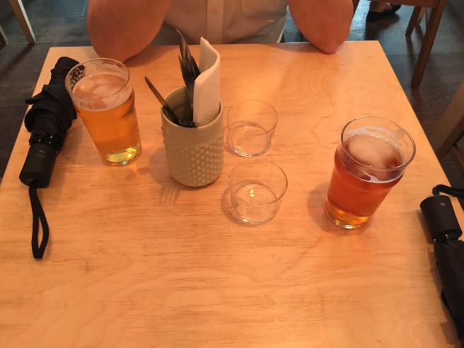 table set up with our Pilsner