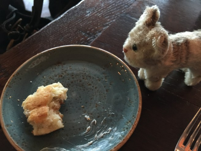 Frankie liked the scones