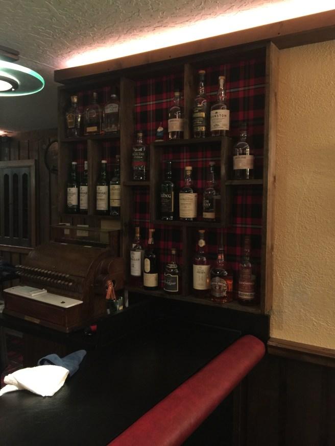 nice selection of Scotch