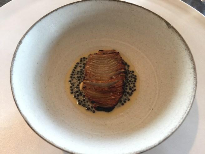 Artichoke, barley and caviar