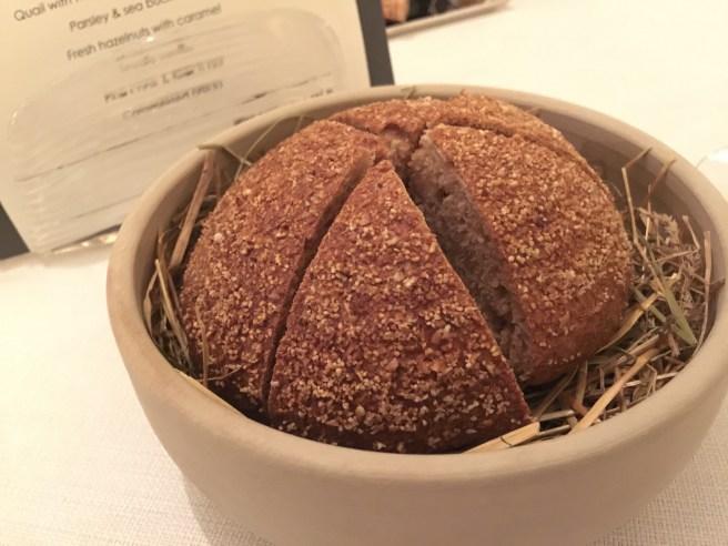 warm sour dough bread