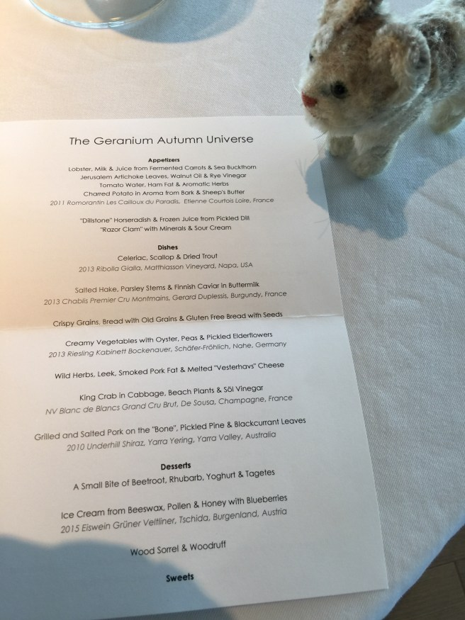 Frankie looked at the menu