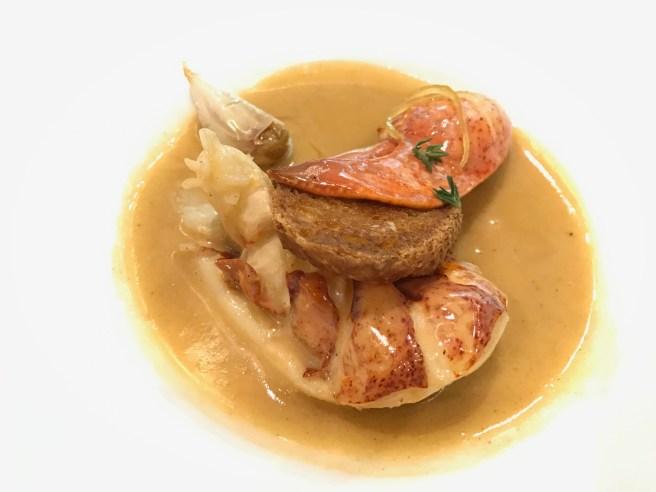New Orlean BBQ lobster