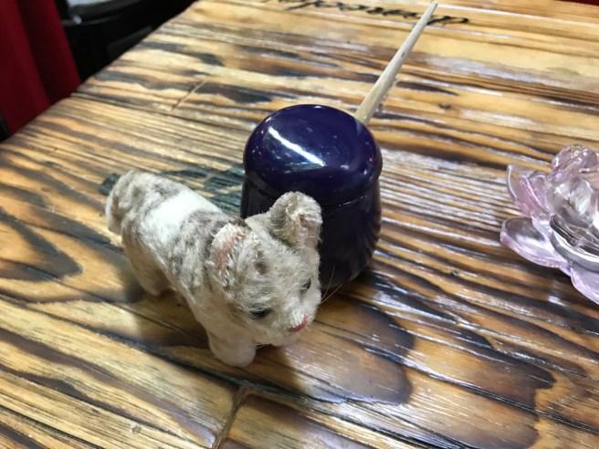 Frankie liked the little jar