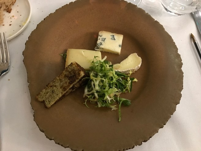 cheese plated