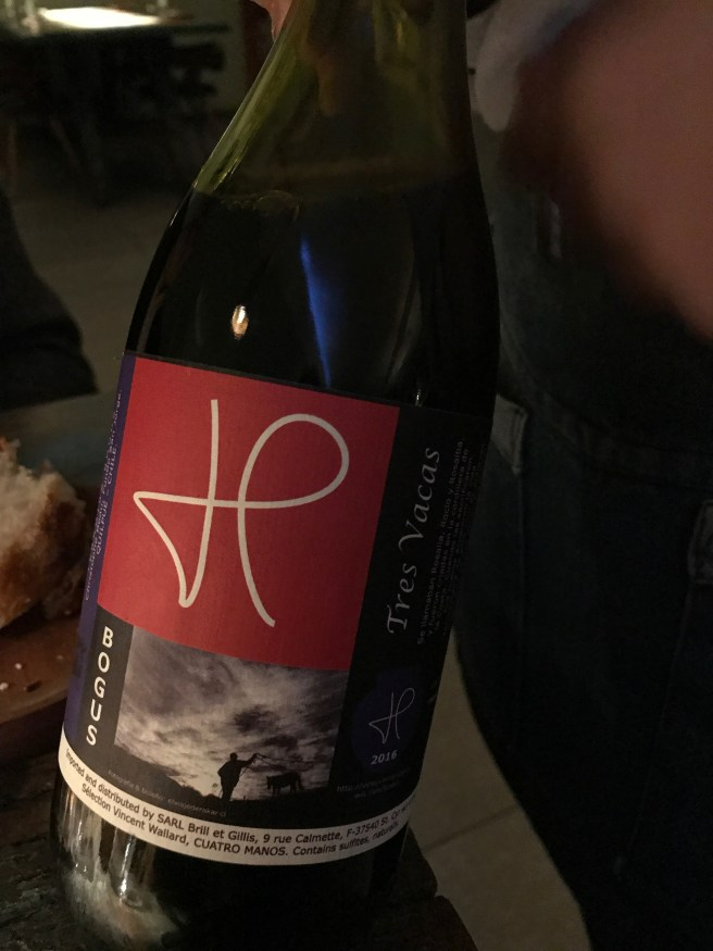 wine with sea bass