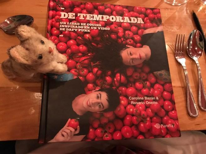 Frankie and chef's cookbook