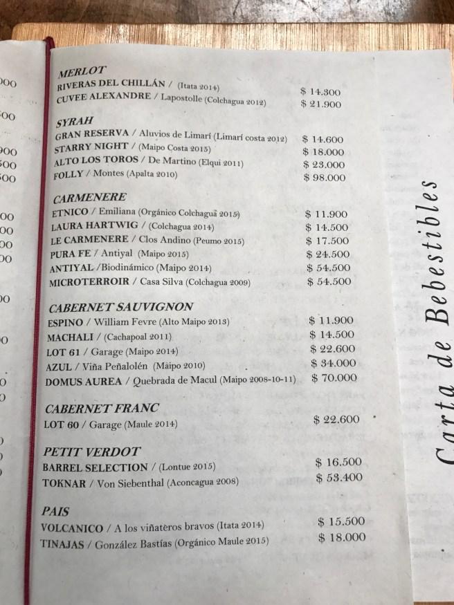 wine list 2