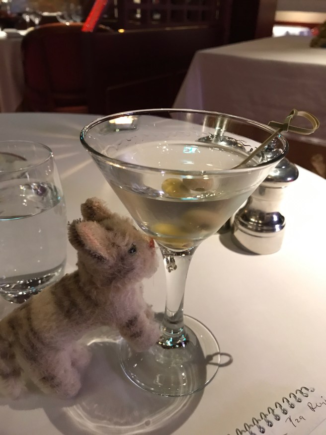 Frankie loves a martini