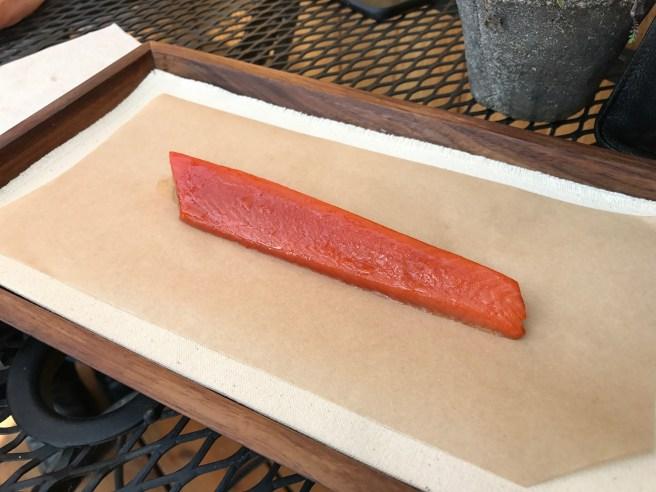 reefnet-caught sockeye salmon