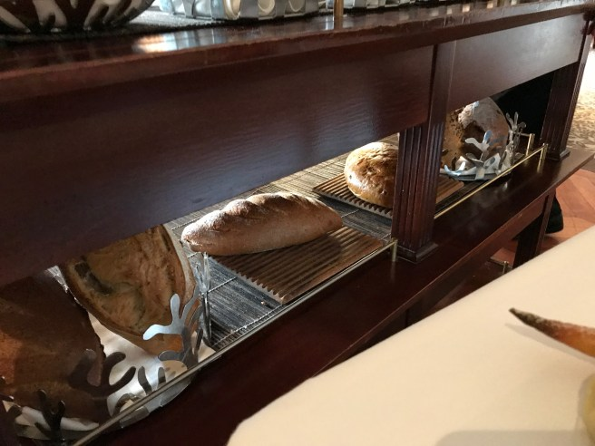 loaves underneath