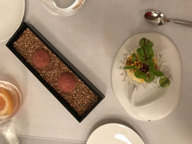 dried beef; sea urchin