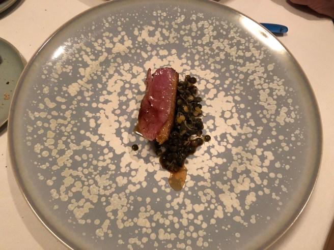 Canard/lentilles germées: Duck/lentils