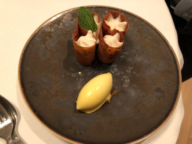 Pomme/cidre/safran: Apple/cider/saffron