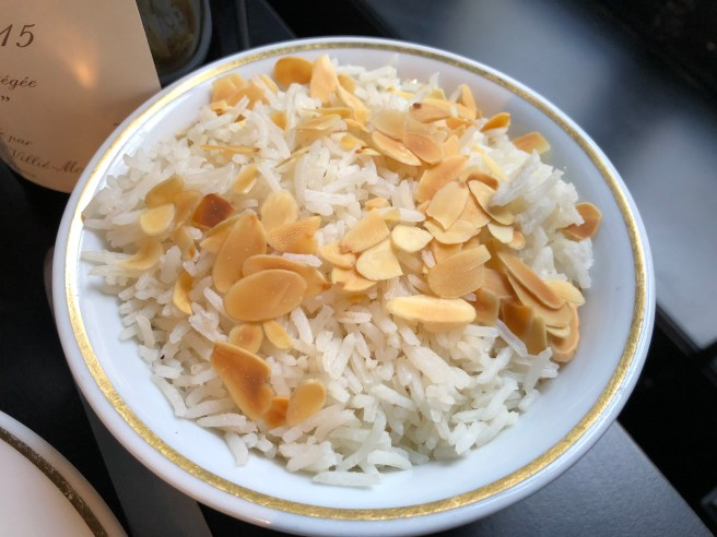 rice with almonds