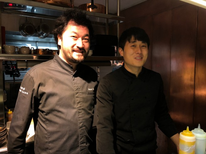 Chef Sang and Chef Sung dae Lee