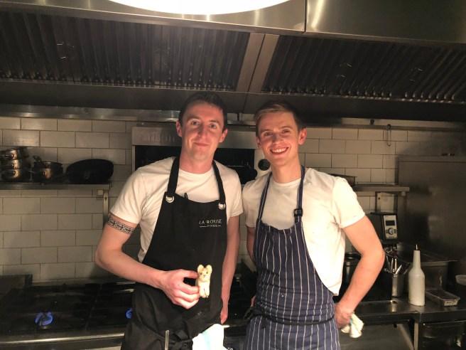 Chefs with Frankie