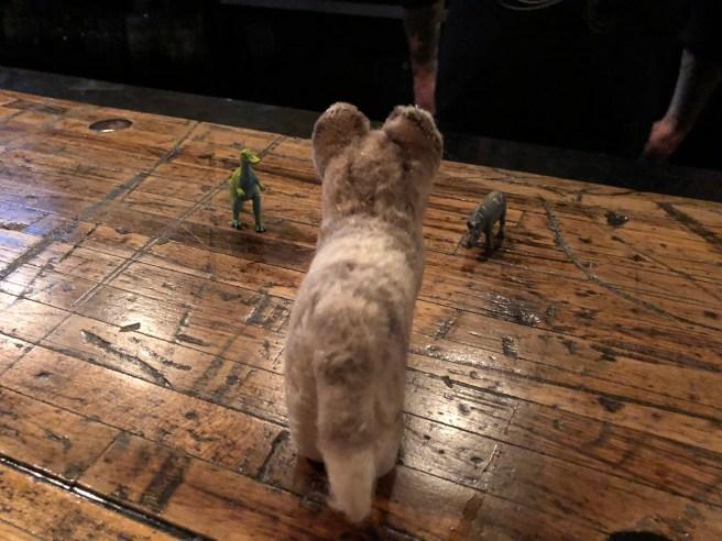 Frankie met some other creatures