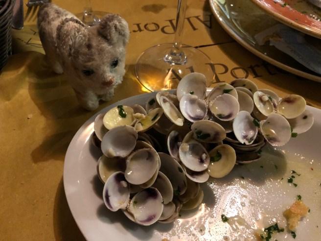 Frankie surveyed the empty shells