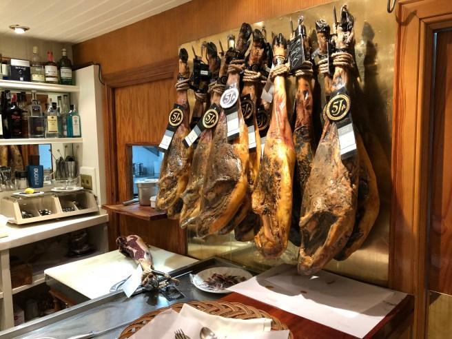 hanging hams