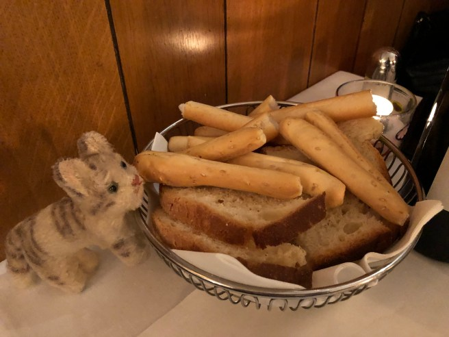 Frankie watched over the bread
