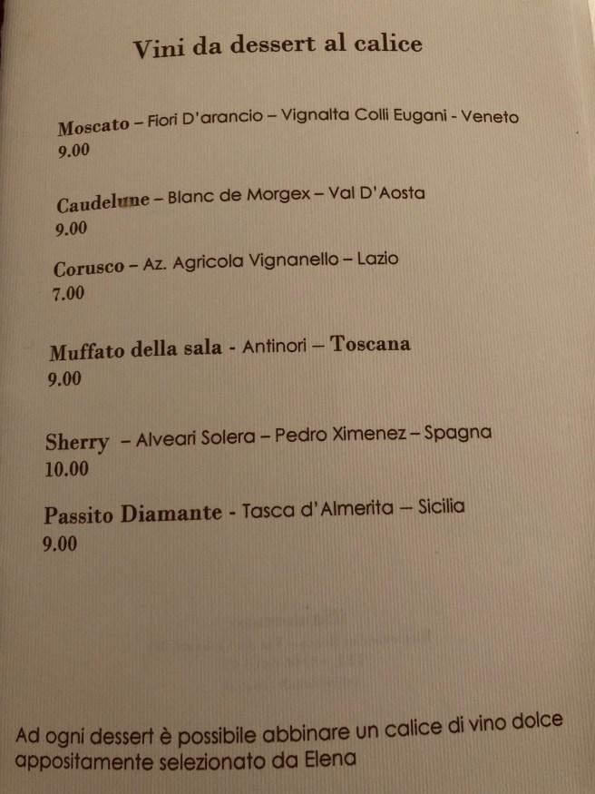 dessert menu 2