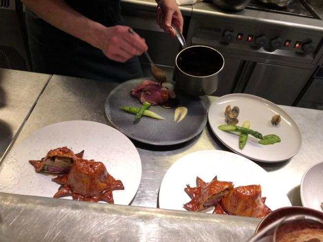 assembling plates
