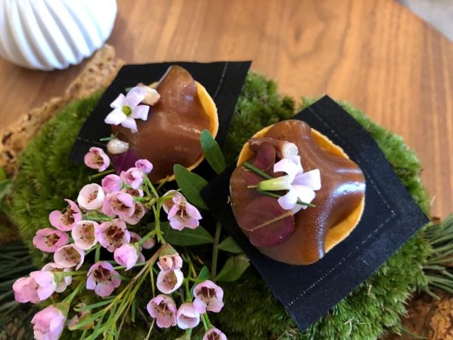 Foie gras parfait and madeira