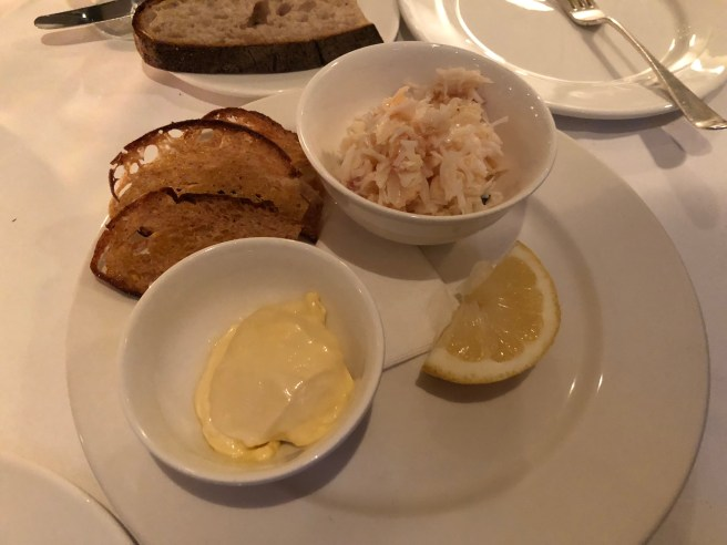 crab and mayonnaise