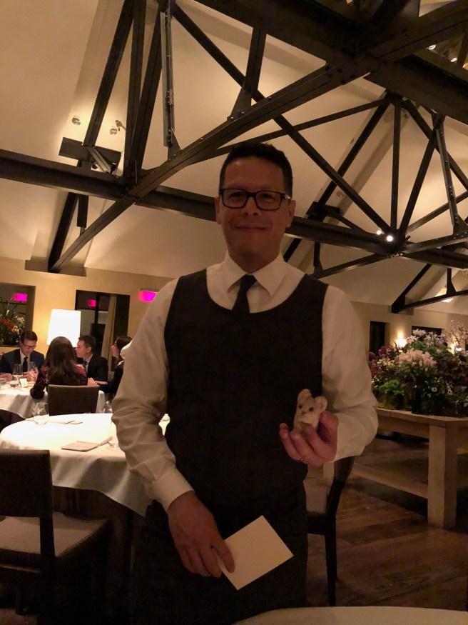 Our server Hugo and Frankie