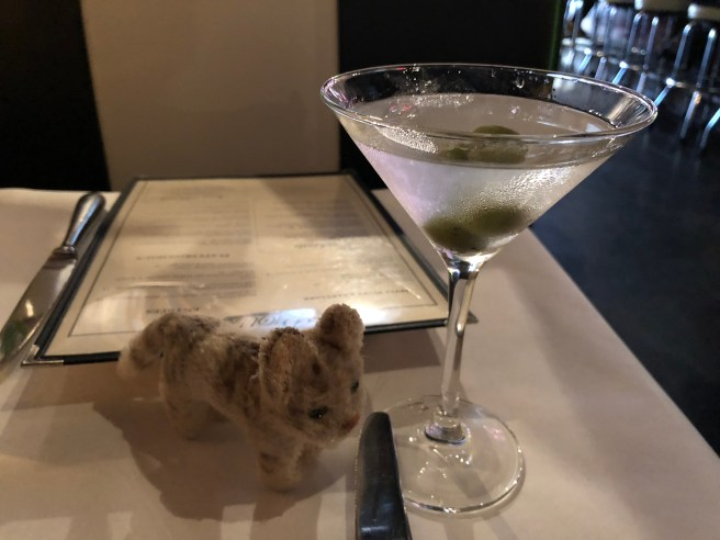 Frankie thought they made a good martini