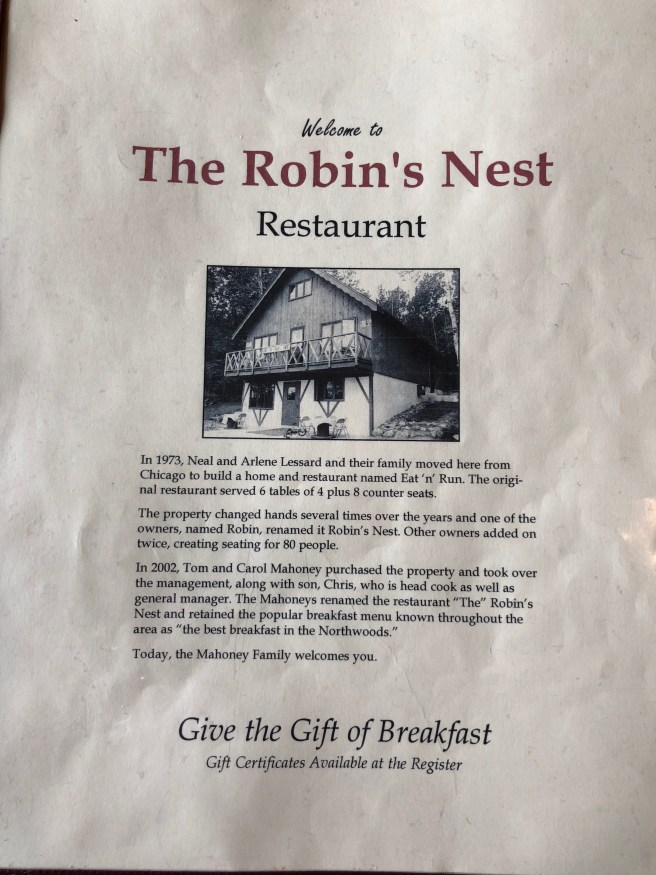 about Robin's Nest