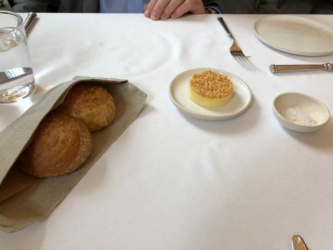 Bread, Butter and salt