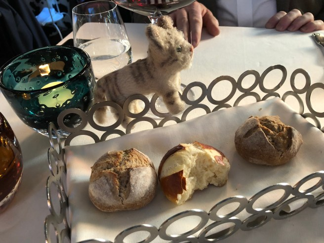 Frankie looked inside some of the breads