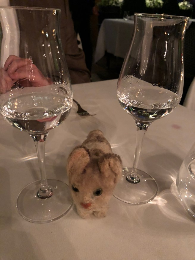 Frankie is fond of grappa