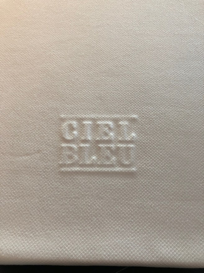 stamped linens