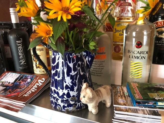 Frankie found flowers