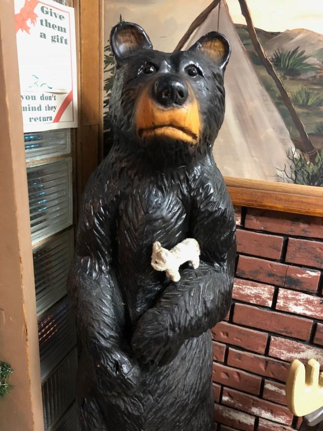Frankie's not afraid of bears