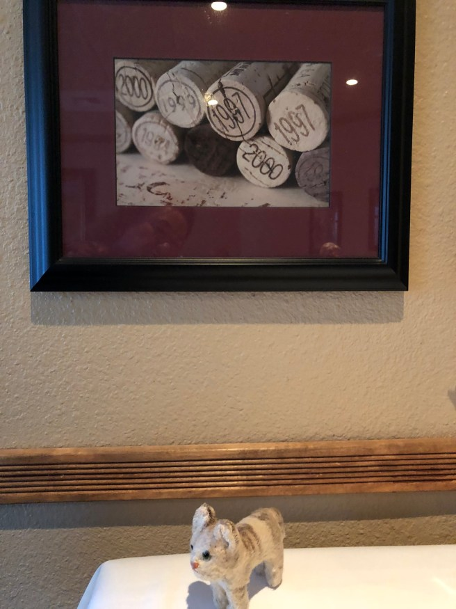 Frankie found a photo of wine corks