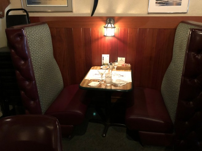 small booth