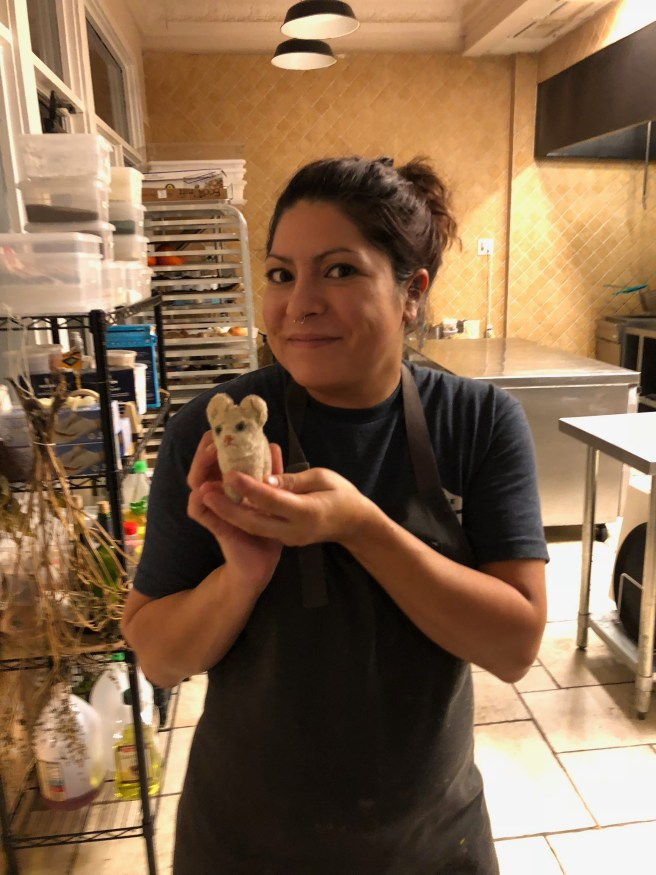 ChefOwner Misti Norris and Frankie